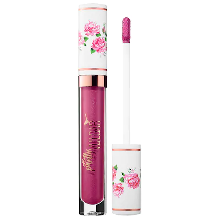Pretty Vulgar My Lips Are Sealed Liquid Lipstick Forget Me Not 1 oz/ 3ml