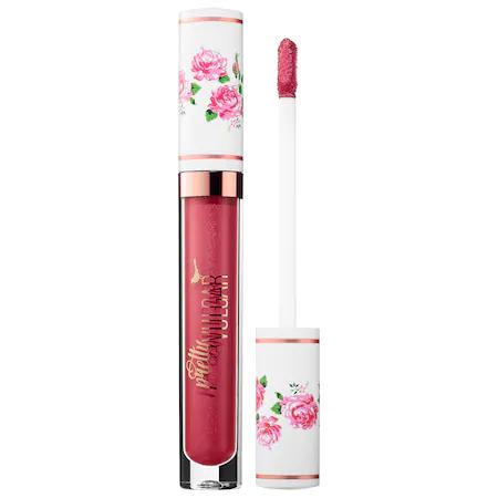 Pretty Vulgar My Lips Are Sealed Liquid Lipstick Scandalous 1 oz/ 3ml