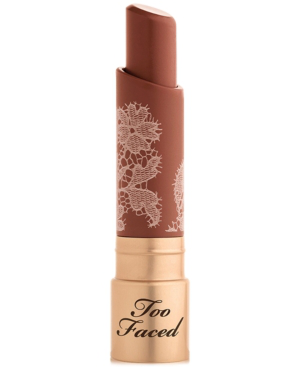 Too Faced Natural Nudes Intense Color Coconut Butter Lipstick In Girl Code
