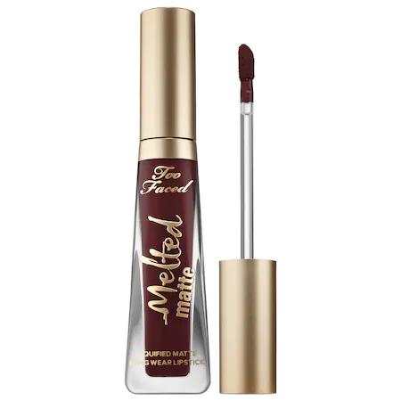 Too Faced Melted Matte Liquid Lipstick Drop Dead Red 0.4 oz/ 11.8 ml