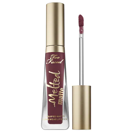 Too Faced Melted Matte Liquid Lipstick Suck It 0.4 oz/ 11.83 ml In Suck It Out