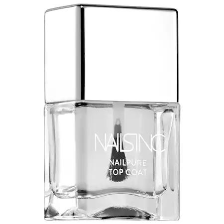 Nails Inc. Nailpure Top Coat 0.49 oz/ 14 ml