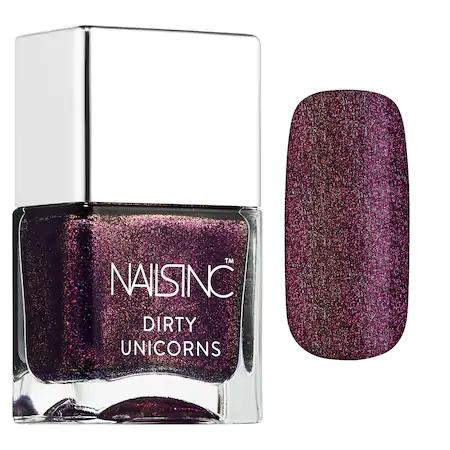 Nails Inc. Nail Polish Rainbow Hooves Pink 0.47 oz/ 14 ml