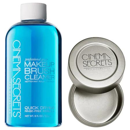 Cinema Secrets Makeup Brush Cleaner Pro Starter Kit 8 oz/ 237 ml