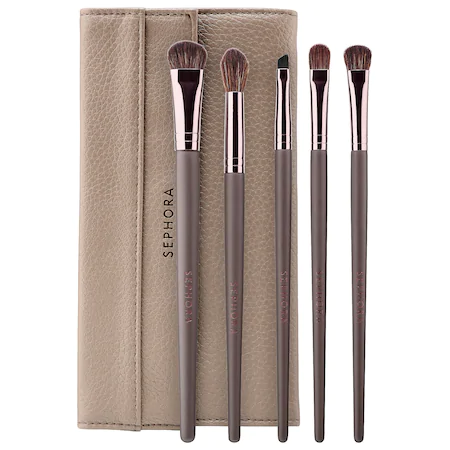 Sephora Collection Eyes: Uncomplicated Brush Set