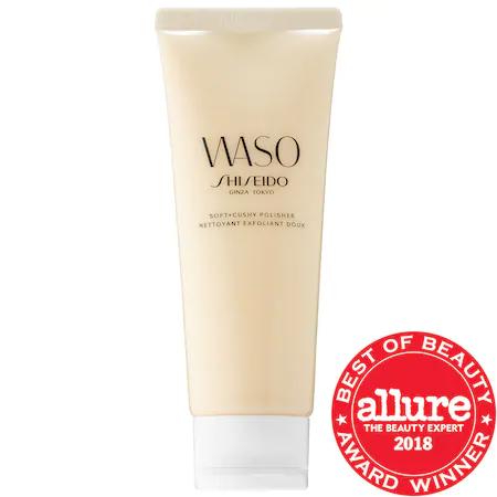 Shiseido Waso: Soft & Cushy Polishing Exfoliator 2.7 oz/ 75 ml