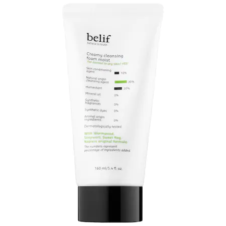 Belif Creamy Cleansing Foam Moist 5.4 oz/ 160 ml