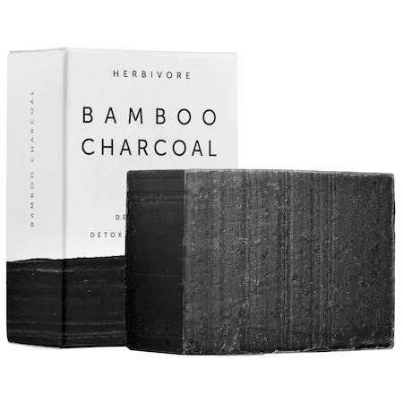 Herbivore Bamboo Charcoal Detoxifying Soap Bar 4 oz/ 113 G
