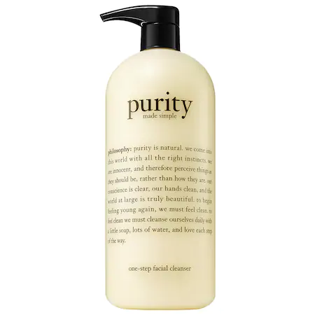 Philosophy Purity Made Simple Cleanser 32 oz/ 947 ml