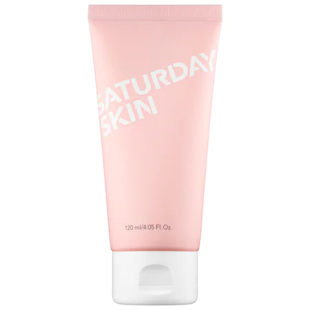 Saturday Skin Rise + Shine Gentle Cleanser 4.05 oz/ 120 ml