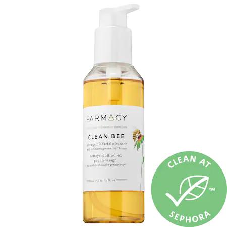 Farmacy Clean Bee Ultra Gentle Facial Cleanser 5 Oz/150 ml