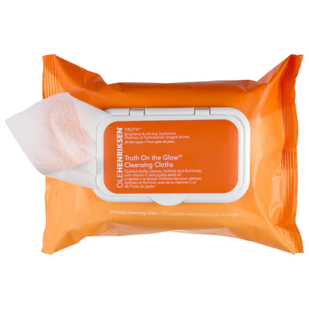 Olehenriksen Truth™ On The Glow Cleansing Cloths 30 Facial Cleansing Cloths