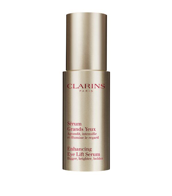 Clarins Enhancing Eye Lift Serum 0.5 oz/ 15 ml In White