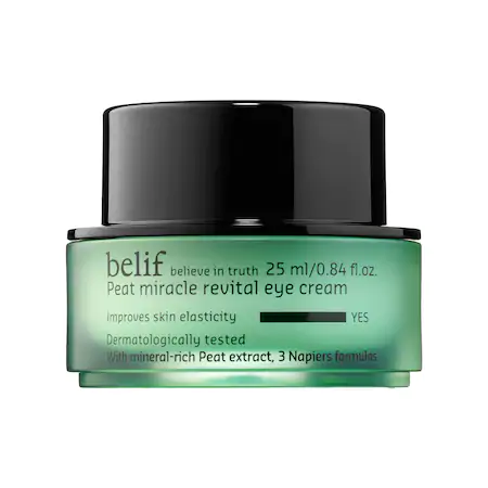 Belif Peat Miracle Revital Eye Cream 0.84 oz/ 25 ml