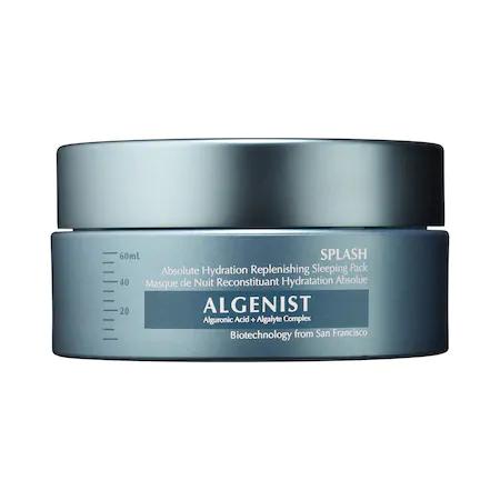 Algenist Splash Absolute Hydration Replenishing Sleeping Pack 2 oz/ 60 ml
