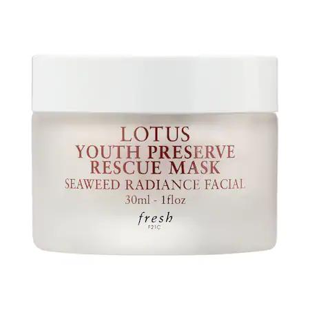 Fresh Lotus Youth Preserve Rescue Mask 1 oz/ 30 ml