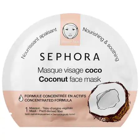 Sephora Collection Face Mask Coconut 1 Mask