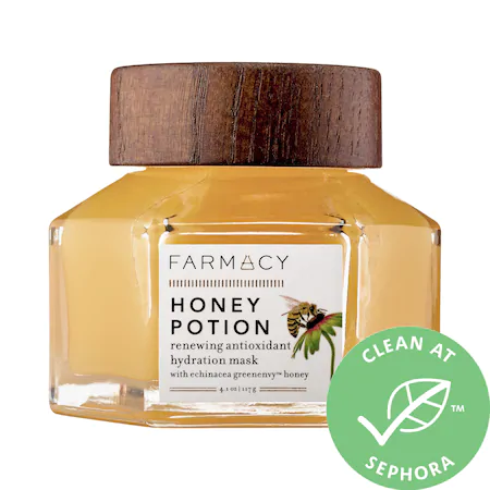 Farmacy Honey Potion Renewing Antioxidant Hydration Mask 4.1 oz/ 117 G
