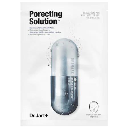 Dr. Jart+ Dermask Ultra Jet Porecting Solution Bubbling Charcoal Sheet Mask Dermask Ultra Jet Porecting Soluti