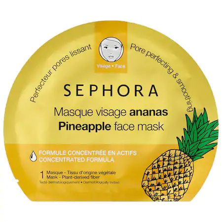 Sephora Collection Face Mask Pineapple 1 Mask