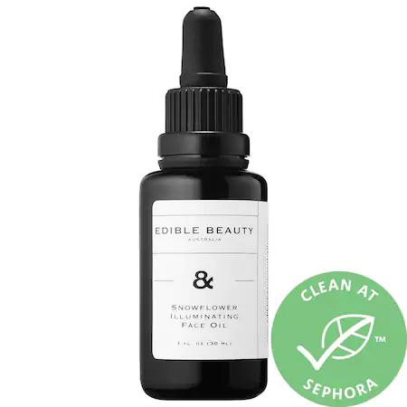 Edible Beauty Snowflower Illuminating Face Oil 1 oz/ 30 ml