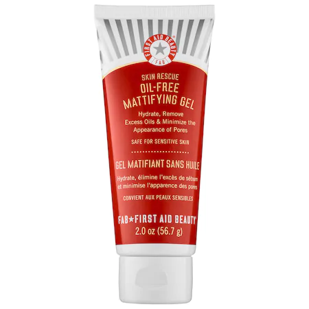 First Aid Beauty Skin Rescue Oil-free Mattifying Gel Moisturizer 2 oz/ 60 ml