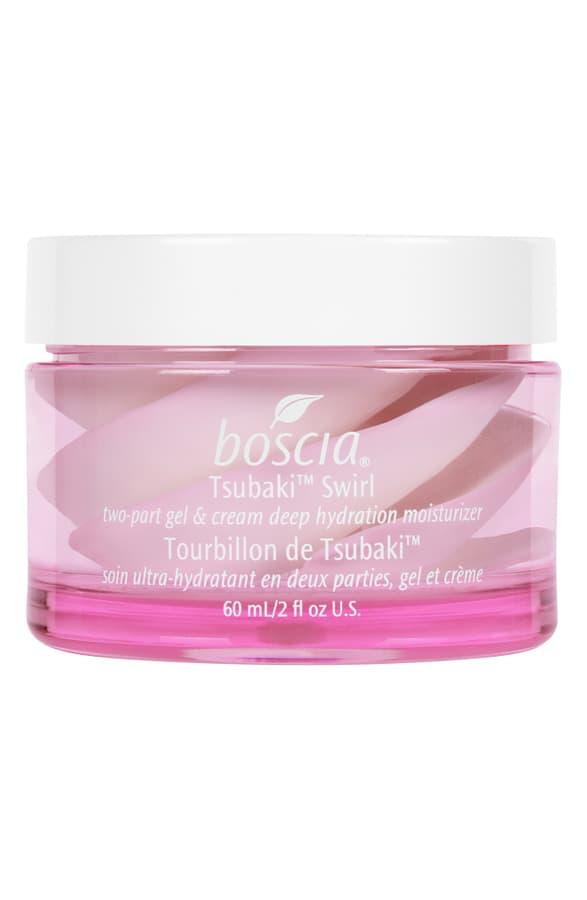 Boscia Tsubaki(tm) Swirl Two-part Gel & Cream Deep Hydration Moisturizer 2 oz/ 60 ml