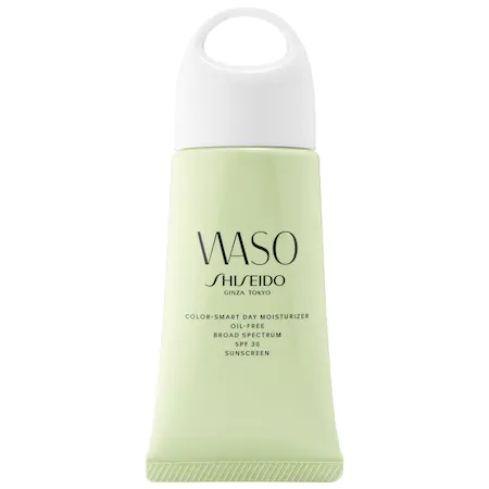 Shiseido Waso: Color-smart Day Moisturizer Oil-free Spf 30 Sunscreen 1.9 oz/ 50 ml