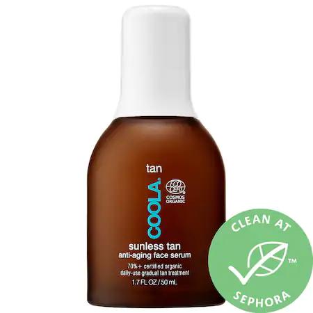 Coola Sunless Tan Anti-Aging Face Serum 1.7 Oz/ 50 Ml