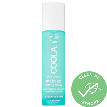 Coola Makeup Setting Spray Organic Sunscreen Spf 30 1.5 oz