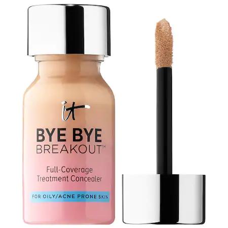 It Cosmetics Bye Bye Breakout™ Full-coverage Concealer Medium Tan 0.35 oz/ 10.5 ml