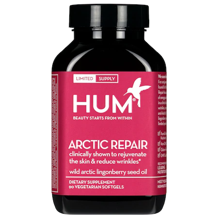 Hum Nutrition Arctic Repair Fine Lines And Wrinkles Supplement 90 Capsules