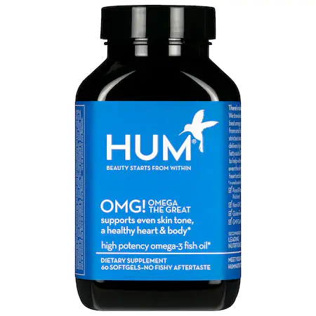 Hum Nutrition Omg! Omega The Great Fish Oil Supplement 60 Softgels