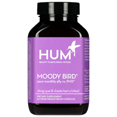 Hum Nutrition Moody Bird™ Pms Support Supplement 60 Capsules