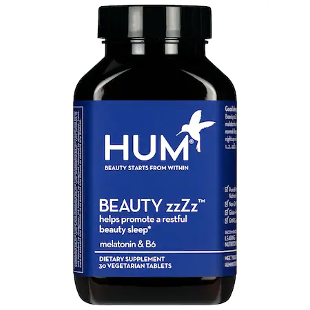 Hum Nutrition Beauty Zzzz Sleep Support Supplement 30 Tablets