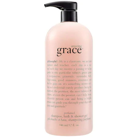 Philosophy Amazing Grace Shampoo, Bath & Shower Gel 32 oz