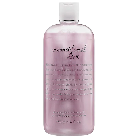 Philosophy Unconditional Love Shampoo, Bath & Shower Gel 16 oz/ 480 ml