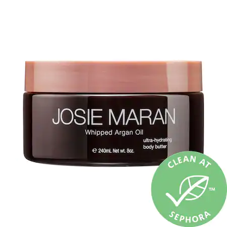 Josie Maran Whipped Argan Oil Body Butter 8 oz Vanilla Bean 8 oz/ 237 ml