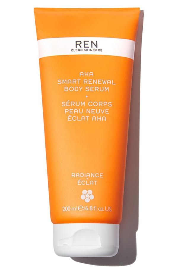 Ren Clean Skincare Aha Smart Renewal Body Serum 6.8 oz/ 200 ml