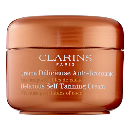 Clarins Delicious Self-tanning Cream 4.4 oz/ 150 ml