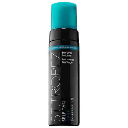 St. Tropez Tanning Essentials Self Tan Dark Bronzing Mousse 6.7 oz/ 198 ml