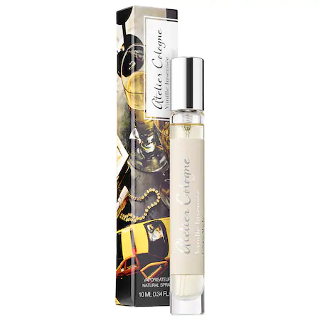 Atelier Cologne Vanille InsensÉe Cologne Absolue Per Perfumetravel Spray 0.34 oz/ 10 ml Colognee Pure Perfume Spray