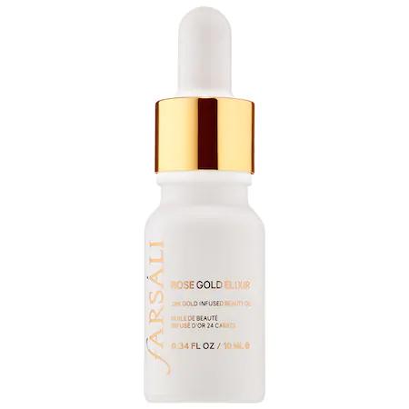 Fars Li Rose Gold Elixir - 24k Gold Infused Beauty Oil Mini Mini Size - 0.34 oz/ 10 ml
