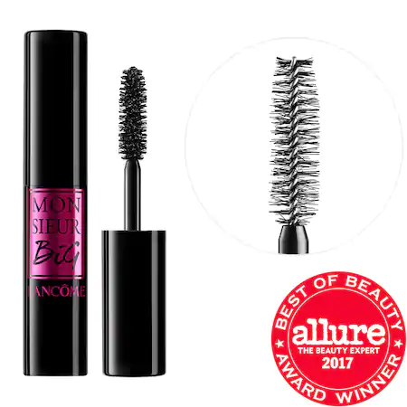 LancÔme Monsieur Big Mascara Mini Mini Size Black - 0.13 oz/ 4 ml In 01 Black