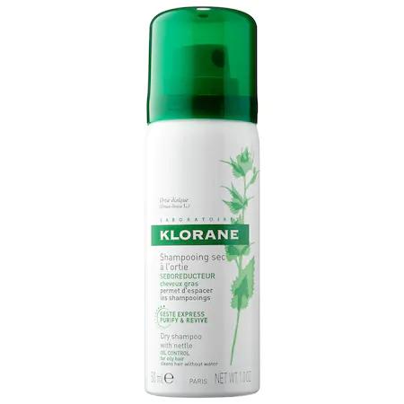 Klorane Dry Shampoo With Nettle Oil Control Mini 1 oz