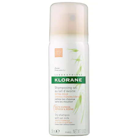 Klorane Dry Shampoo With Oat Milk Natural Tint Mini 1 oz