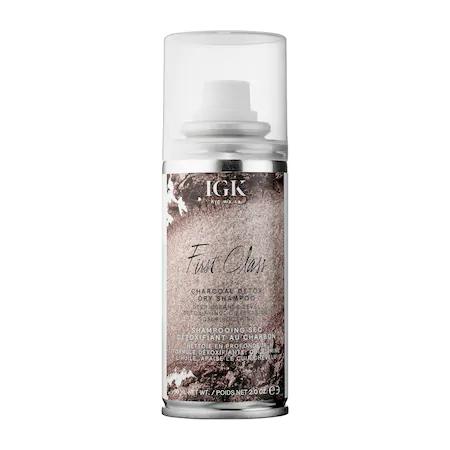 Igk First Class Charcoal Detox Dry Shampoo Mini 2 oz/ 90 ml