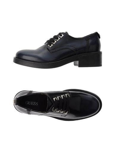Guess Laced Shoes In Dark Blue