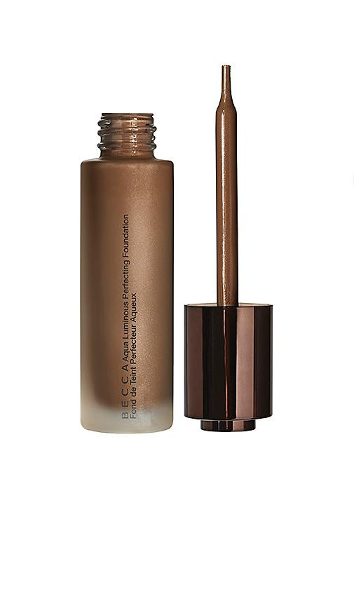 Becca Cosmetics Aqua Luminous Perfecting Foundation In Deep Bronze