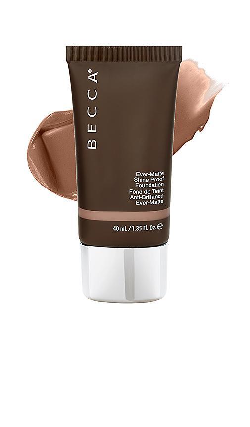 Becca Cosmetics Ever-matte Shine Proof Foundation. In Mahogany